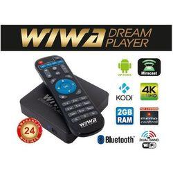 Tuner WIWA Dream Player Smart TV 2790Z DVB-T DVB-T2 DVB-S- natychmiastowa wysyłka, ponad 4000 punktów odbioru!