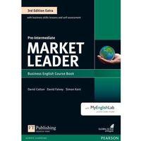 Książki do nauki języka, Market Leader 3Ed Extra Pre-Intermediate. Podręcznik + DVD-ROM + MyEnglishLab (opr. miękka)