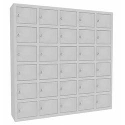 Metalowa szafka na komórki WSS 30 schowków zamykanych na klucz