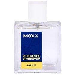 Mexx Whenever Wherever woda po goleniu 50 ml dla mężczyzn