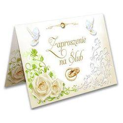 Zaproszenia ślubne z kopertą - 1 szt.