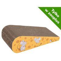 Pozostałe zabawki, Ser drapak dla kota - Dł. x szer. x wys.: 43,5 x 19 x 12 cm| -5% Rabat dla nowych klientów| DARMOWA Dostawa od 99 zł