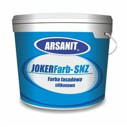 Farba silikonowa ARSANIT JOKERFarb–SNZ 50P0 10L