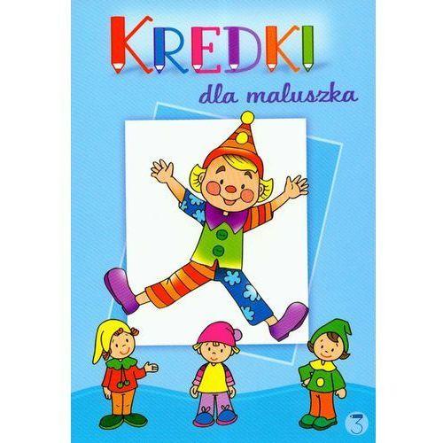 Książki dla dzieci, Kredki dla maluszka 3 (opr. miękka)
