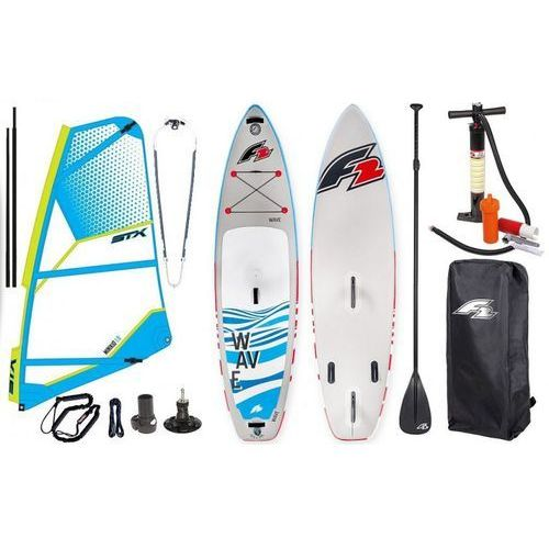 "Deski do windsurfingu, Zestaw Windsurfingowy-Deska Wind Sup F2 Wave 10'5"" + Pednik STX 2019"