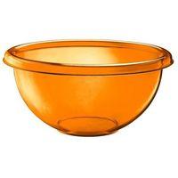 Misy i miski, Guzzini - miska na sałaty Season 30 cm - Happy Hour - pomarańczowa - pomarańczowa