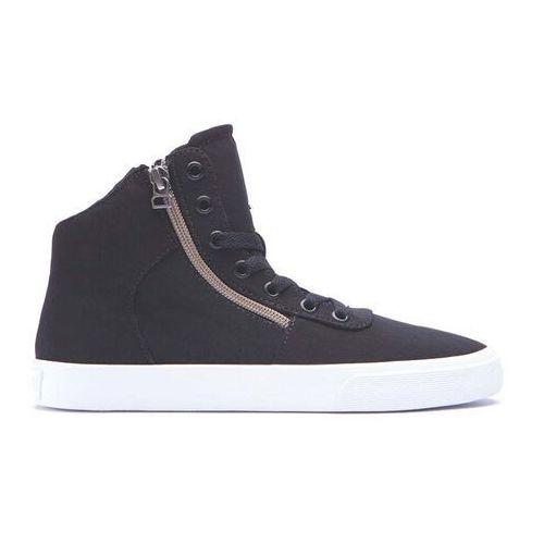 Damskie obuwie sportowe, buty SUPRA - Womens Cuttler Black/Crackle-White (BCR) rozmiar: 35.5