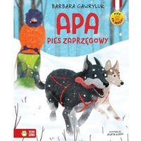 Książki dla dzieci, Pies na medal. Apa - pies zaprzęgowy (opr. twarda)
