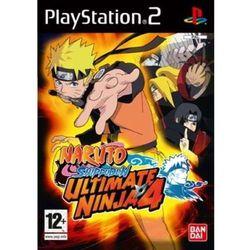 Naruto Shippuden Ultimate Ninja 4 - Sony (PS2)
