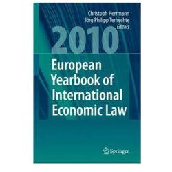 European Yearbook of International Economic Law 2010 (opr. twarda)