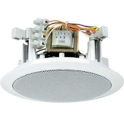 Głośnik sufitowy PA do zabudowy Monacor EDL-24, 94 dB, 100 - 14 000 Hz, 100 V, Kolor: biały, 1 szt.
