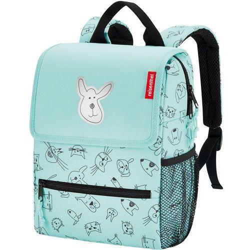 a5efadccf18cf reisenthel® Plecak kids cats and dogs mint