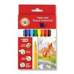 KOH-I-NOOR Flamastry 10 kolorów kartonik - WIKR-061032 Darmowy odbiór w 21 miastach!