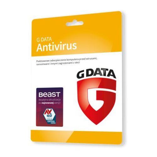 Oprogramowanie antywirusowe, G Data AntiVirus 2 PC - Nowa 2 lata