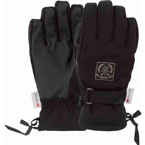 Pozostała odzież męska, rękawice POW - Xg Mid Glove Black (BK) rozmiar: L