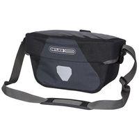 Sakwy, torby i plecaki rowerowe, Torba na kierownicę ORTLIEB Ultimate 6 S Plus czarny-grafitowy