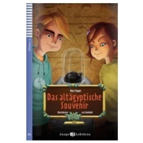 Książki do nauki języka, Junge ELI Lekturen - Das altägyptische Souvenir + CD Audio (opr. miękka)
