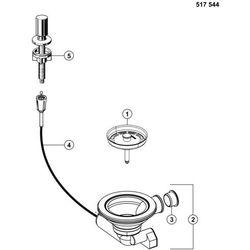 Korek automatyczny BLANCO 517546