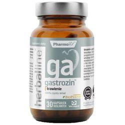 Gastrozin z dodatkiem BioPerine 30 kapsułek Vcaps PharmoVit Herballine