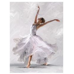 Obraz Canvas 60 x 80 cm Waterdance Allonge