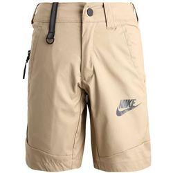Nike Performance SPOTSWEAR TECH Krótkie spodenki sportowe khaki/black/anthracite
