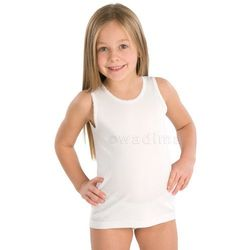 Podkoszulek dziewczęcy 122-140 ramiączko 40204 Wadima