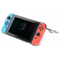 Baseus SW pancerne etui 360 na Nintendo Switch z wycięciami na pady przezroczysty (WISWGS06-02) - Przezroczysty