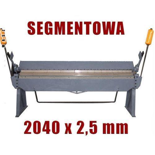 Giętarki, ZAGINARKA GIĘTARKA SEGMENTOWA DO BLACHY MAKTEK 2040mm x 2.5mm EWIMAX