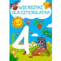 Książki dla dzieci, Wierszyki dla czterolatka (opr. twarda)