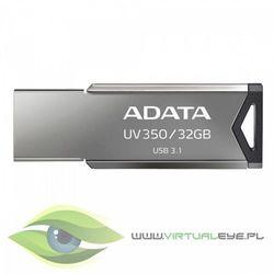 Adata Pendrive UV350 32GB USB3.1 Metallic