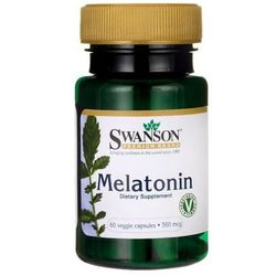 Melatonina 500mcg 60 kaps.