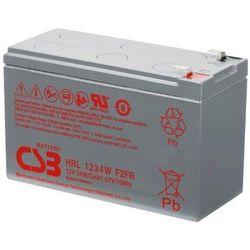 Akumulator AGM CSB HRL 1234 W F2 FR (12V 9Ah)