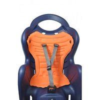 Foteliki rowerowe, Fotelik Rowerowy Bellelli Mr Fox Clamp mocowania na bagażnik - Biało - czerwony