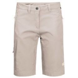 Damskie spodenki ACTIVATE TRACK SHORTS WOMEN light beige - 38
