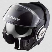 Kaski motocyklowe, KASK MOTOCYKLOWY LS2 FF399 VALIANT MATT BLACK