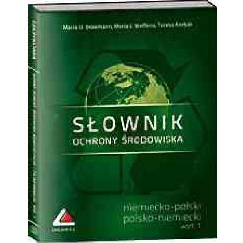 Książki do nauki języka, Słownik ochrony środowiska niemiecko-polski i polsko-niemiecki na CD. Lexland, wydanie 1