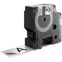 Dymo taśma do drukarek etykiet 1805434, czarny druk/metaliczny podkład, 5.5m, 24mm