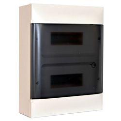 Rozdzielnica naścienna Legrand 2 x 12 modułów drzwi dymne