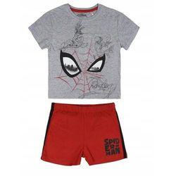 Disney piżama chłopięca Spiderman 116 szary/czerwony