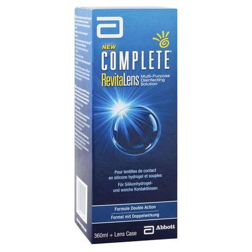 Płyny pielęgnacyjne do soczewek, Complete RevitaLens 360ml