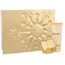 Paco Rabanne Lady Million zestaw Edp 80ml + 100ml Balsam dla kobiet