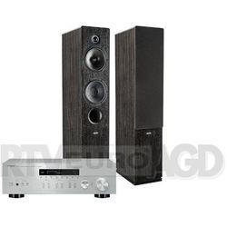Yamaha MusicCast R-N303D (srebrny), Indiana Line Tesi 561 (czarny) - produkt w magazynie - szybka wysyłka! Darmowy transport od 99 zł | Ponad 200 sklepów stacjonarnych | Okazje dnia!