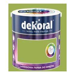 Farba Lateksowa Akrylit W Kolor Zielony Oliwkowy 5l Dekoral