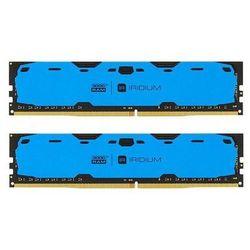 Pamięć DDR4 GOODRAM IRIDIUM 8GB (2x4GB) 2400MHz CL15-15-15 IRDM 512x8 Blue
