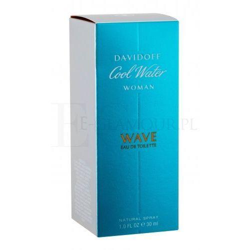 Wody toaletowe damskie, Davidoff Cool Water Wave Woda toaletowa atomizer 30ml