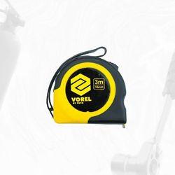 Miara zwijana żółto-czarna 3 m x16 mm Vorel 10104 - ZYSKAJ RABAT 30 ZŁ