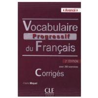 Książki do nauki języka, Vocabulaire Progressif Du Francais Avance Klucz 2 Edycja (opr. miękka)