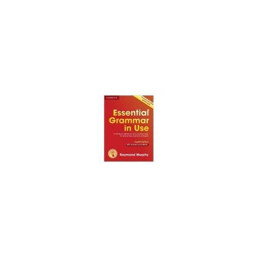 Książki do nauki języka, Essential Grammar in Use czerwona (opr. broszurowa)