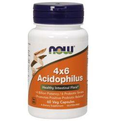 Now Foods Acidophilus 4X6 60kaps