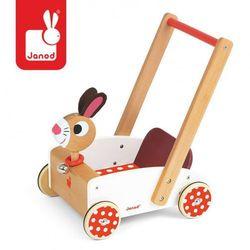 Szalony królik wózek chodzik, Janod